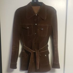 Vintage East West Suede Jacket